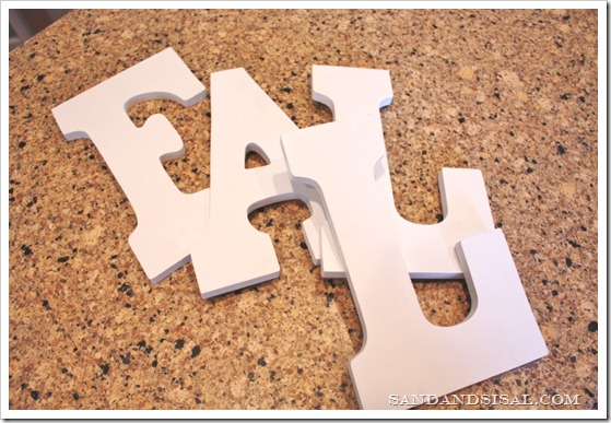 MDF letters