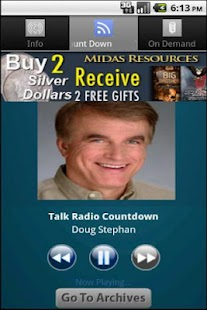 Talk Radio Countdown - screenshot thumbnail