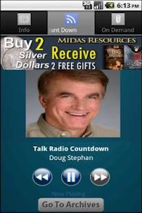 Talk Radio Countdown - screenshot thumbnail