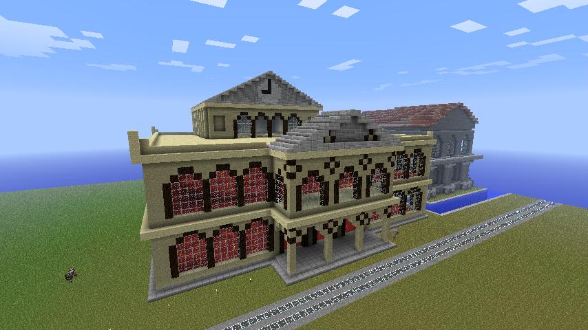 Spawn City Minecraft_mansion_by_hifeynyan-d4ek5fx