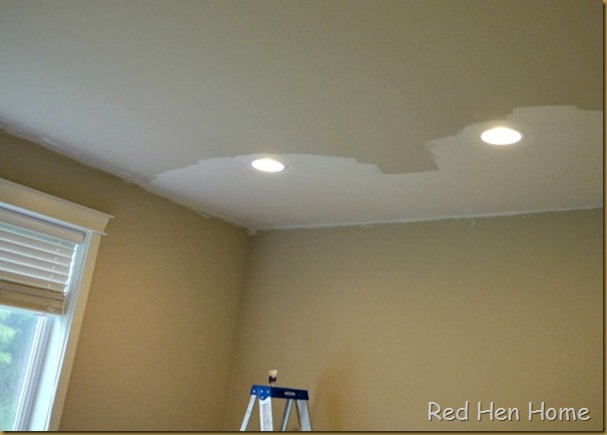 Red Hen Home Handbuilt Bedroom ceiling