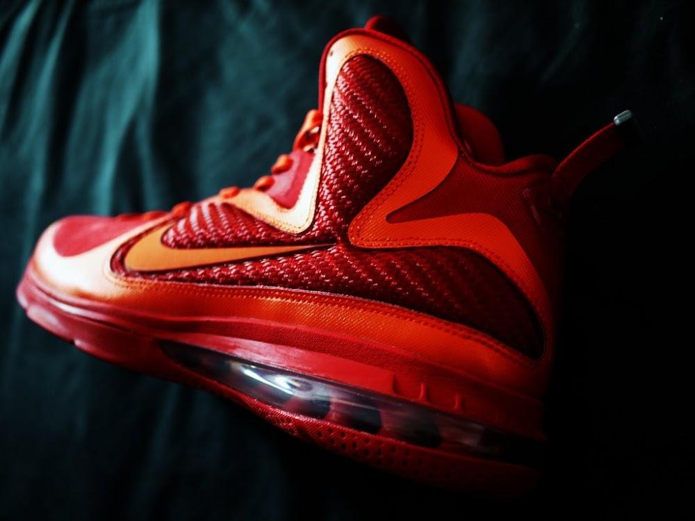 947f33bd9911 ... Nike LeBron 9 iD Showcase 8220Super Flame8221 by HLeung ...