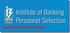 How to apply online IBPS Clerk 2012