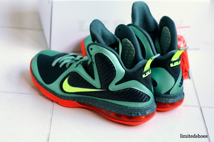 finest selection 7a20f cd414 ... Nike LeBron 9 8220Cannon8221 aka 8220PreHeat8221 Finally with Decent  Photos ...
