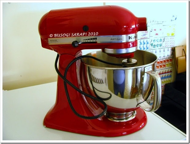 Cusinera's Red Kitchenaid Mixer© BUSOG! SARAP! 2010
