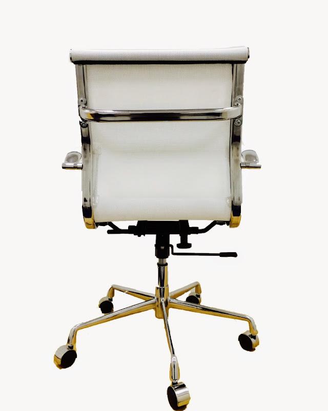 Mesh Office Chair Recline Height Tilt Adjust Chrome Base   eBay