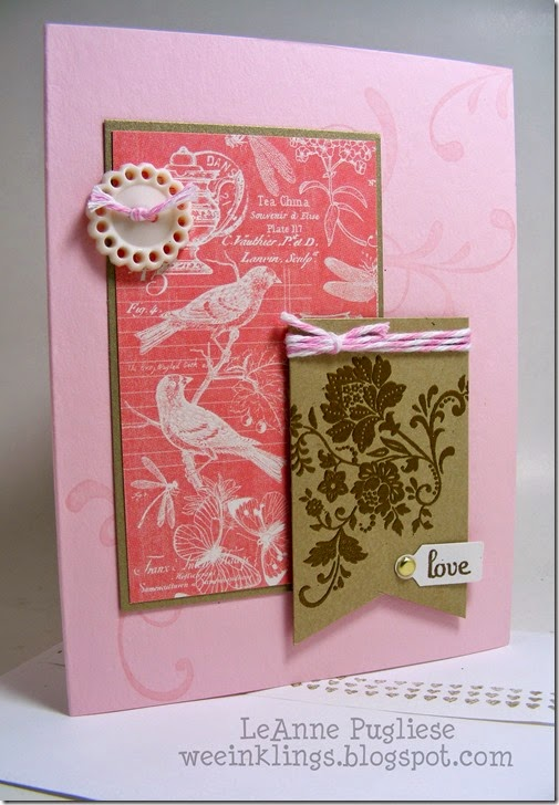 LeAnne Pugliese WeeInklings Fresh Vintage Stampin Up Wedding