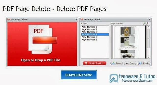 PDF Page Delete : un logiciel pour supprimer des pages dans les fichiers PDF