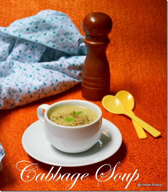 Easy Cabbage Soup Recipe