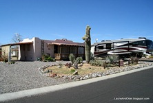 Large casita and RV pad