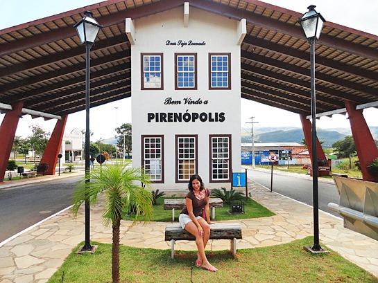 Portal de entrada de Pirenópolis