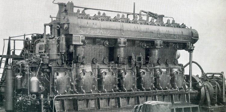 Un nuevo tipo de motor Krupp para la motonave MIGUEL PRIMO DE RIVERA. The Motor Ship 1.927.JPG