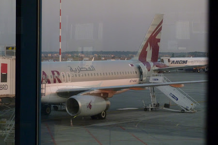 Qatar Airways la Bucuresti