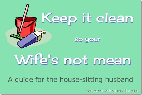 Guife for the house-sitting husband