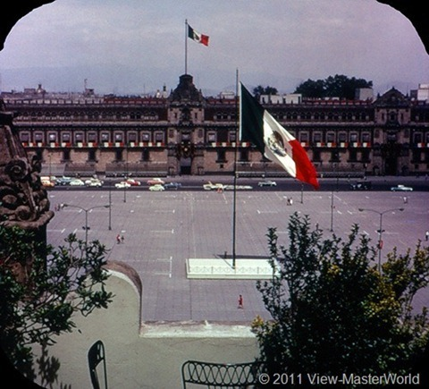 View-Master Mexico City (B002), Scene 12: The National Palace