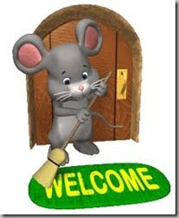 mouse welcome