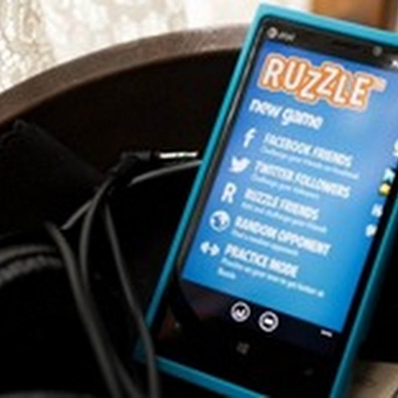 Ruzzle per Windows Phone disponibile sullo Store in versione Free.