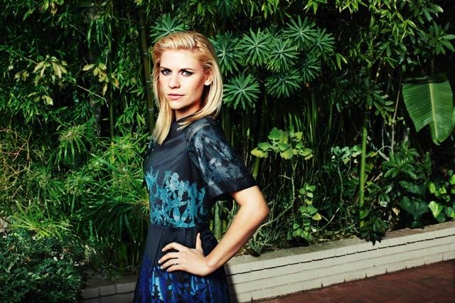 la actriz claire danes para asos magazine