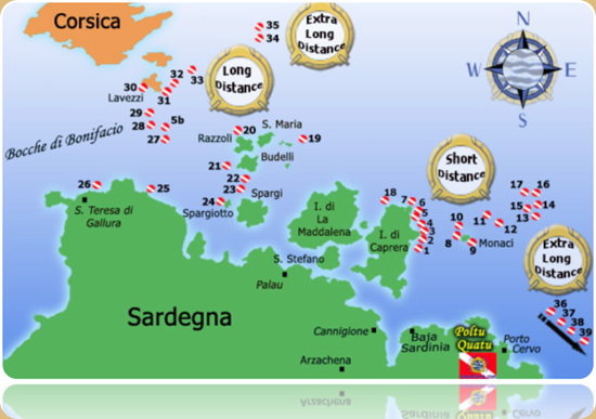 Archipelago of La Maddalena and Islands of Bocche di Bonifacio.5