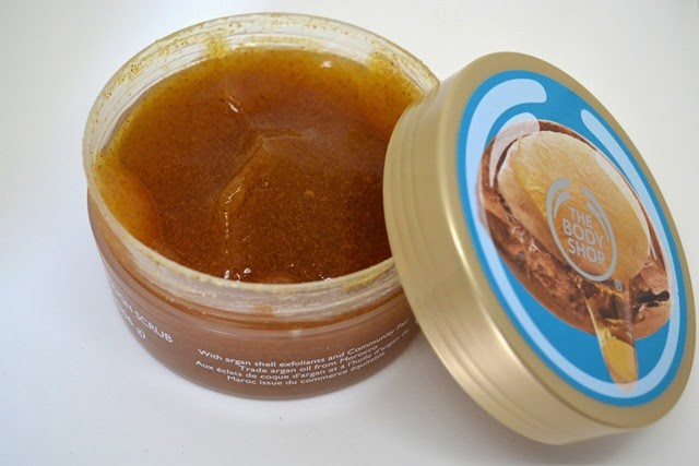 The Body Shop Wild Argan Oil Rough Scrub