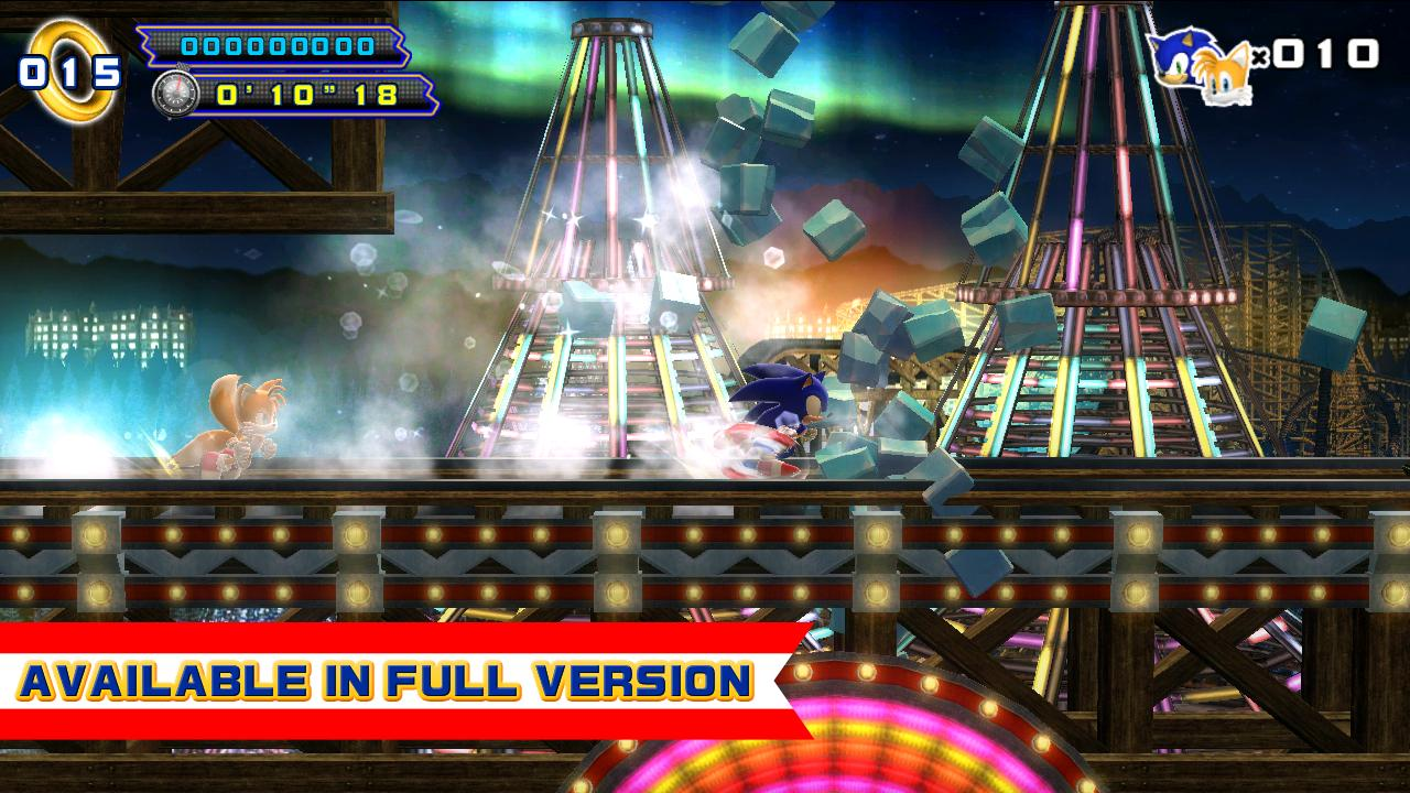 Sonic 4 Episode II THD Lite - screenshot