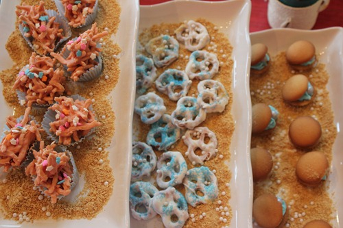 Under the Sea Party Desserts