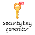 Security Key Generator PRO icon