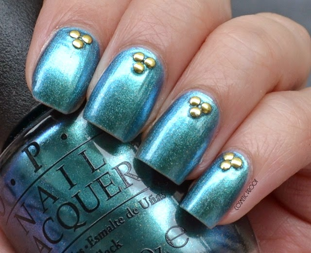OPI - This Color's Making Waves Hawaiian Collection Swatch Review
