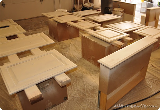 Best How to paint your kitchen cabinets professionally All Things Thrifty