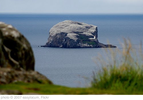 'Bass Rock from Law' photo (c) 2007, easylocum - license: http://creativecommons.org/licenses/by/2.0/