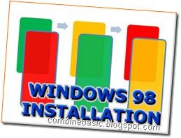win98 installation