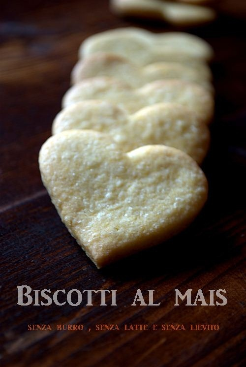 Biscotti al mais senza burro Bimby 2