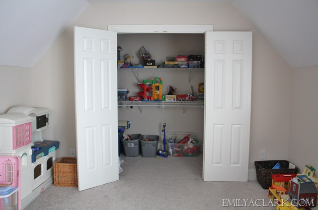 converting a closet into a bathroom