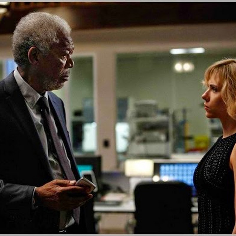 "Morgan Freeman, an Expert on Human Brain in ""Lucy"""
