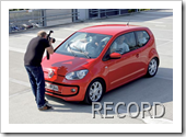 VOLKSWAGEN UP RECORD