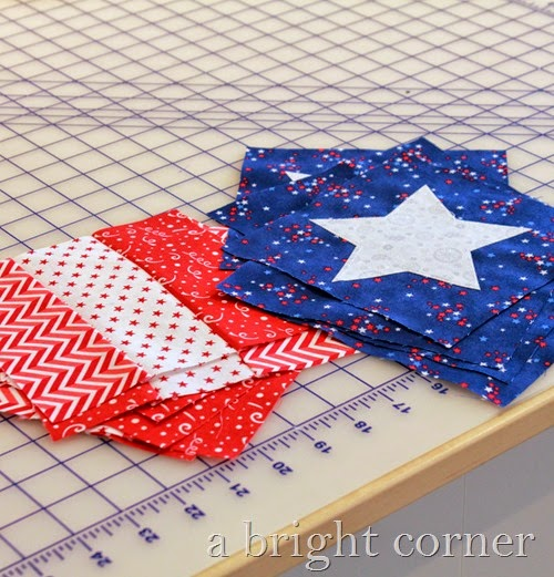 Stars and Stripes Table Runner