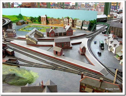 Miniature version of Shipley Railway station UK at  Middleton Railway, Masterton.