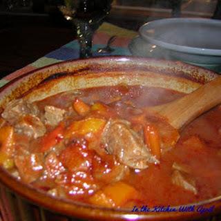 Turkish Beef Stew or Yahni.