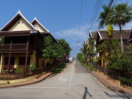 Strazile din Luang Prabang