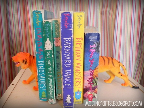 childrens dollar store bookends