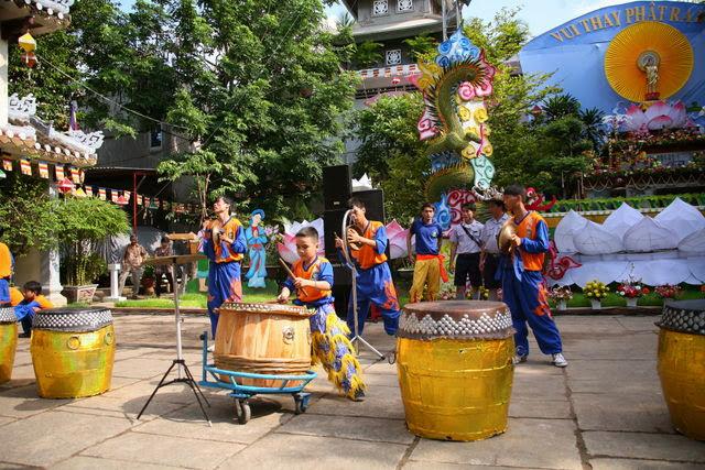 IMG 1918 Đại lễ Phật đản PL 2557 tại Tu viện Quảng Hương Già Lam
