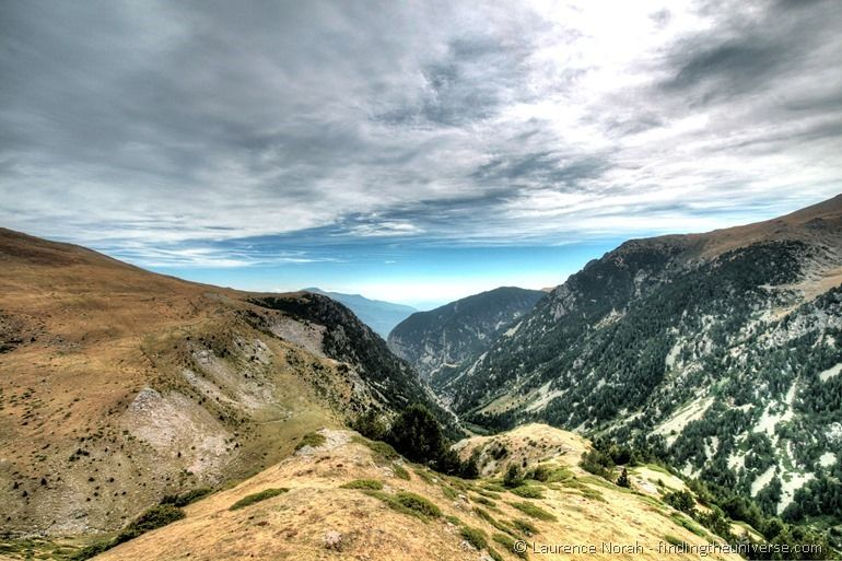 Nuria Valley entry view
