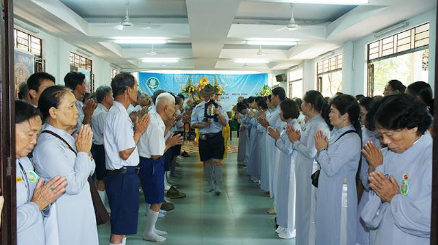 DSC06421 Lễ Hiệp kỵ   Lễ Huý Nhật Cư sĩ Sáng lập viên GĐPT Việt Nam   Tâm Minh Lê Đình Thám
