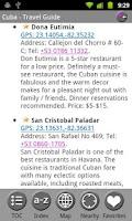 Screenshot of Cuba - FREE Travel Guide