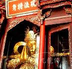 【韋馱菩薩】美男子護法神韋馱的金剛杵-怎麼有些放直的有些橫的呢?