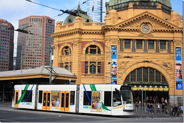 墨尔本Melbourne~ Chapter 10 倒霉又精彩的街头游荡 Queen Victoria Market, City Circle Tram, David Jones, Chinatown