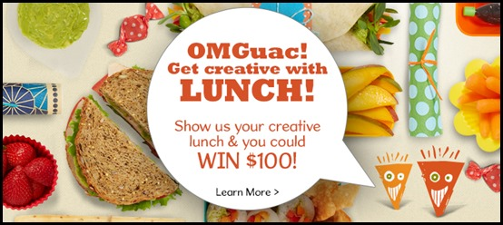 Wholly Guacamoly Lunch Banner