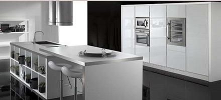 cocina_moderna_blanca-acero Cocinas modernas blancas
