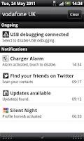 Screenshot of Charger Alarm