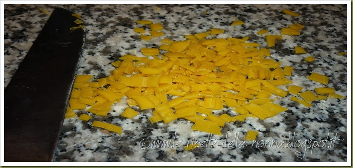 Quadrettini freschi all'uovo - ricetta base (6)